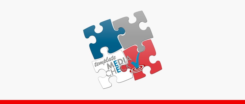 template Media Check