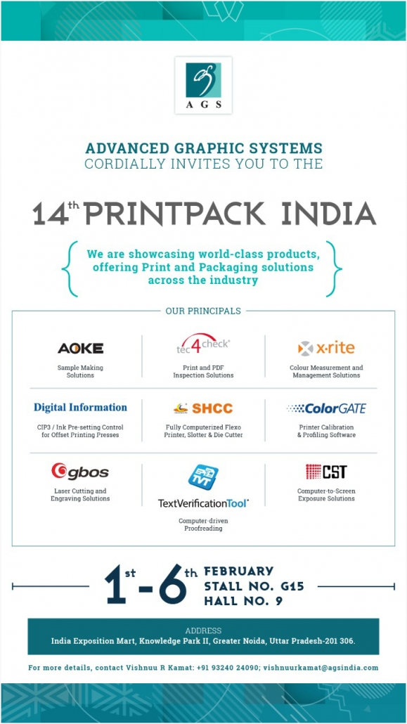 TEC4CHECK ON PRINTPACK 2019, INDIA - tec4check com