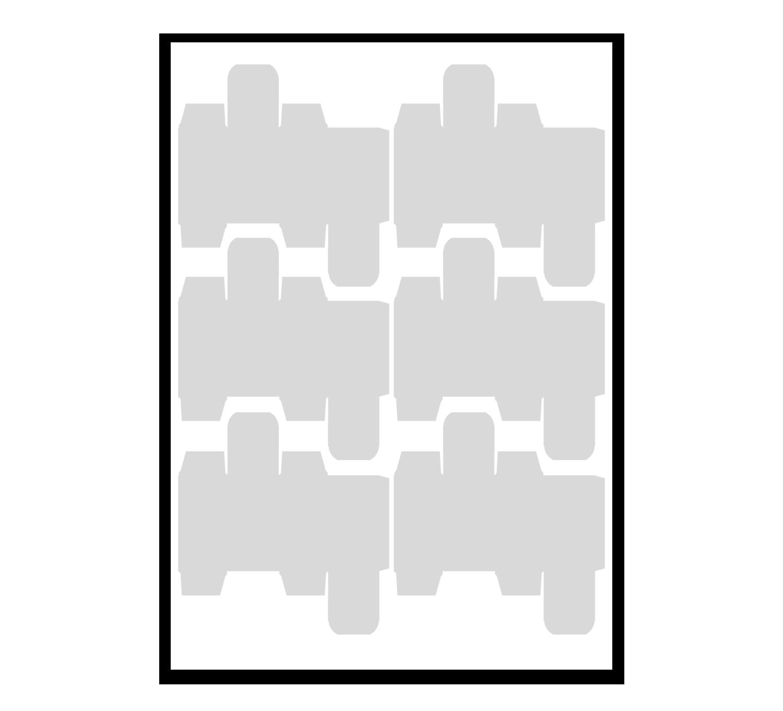 Druckbogen Montage